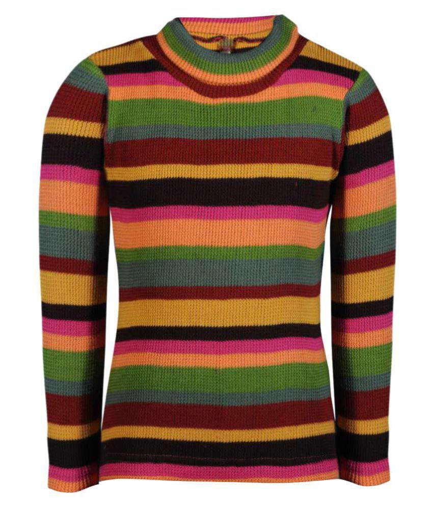 Bio Kid Multicolor Crew Neck Sweatshirt