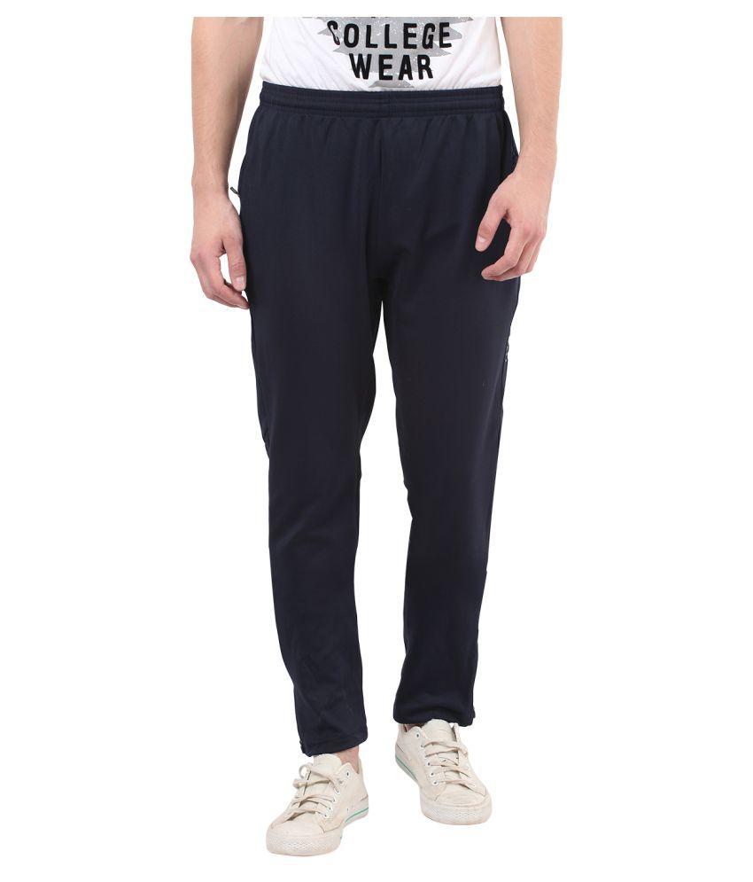 Mode Vetements Black Slim Flat Trousers
