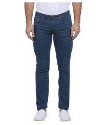 Park Avenue Blue Regular Fit Jeans
