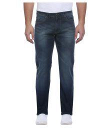 Park Avenue Blue Straight Jeans