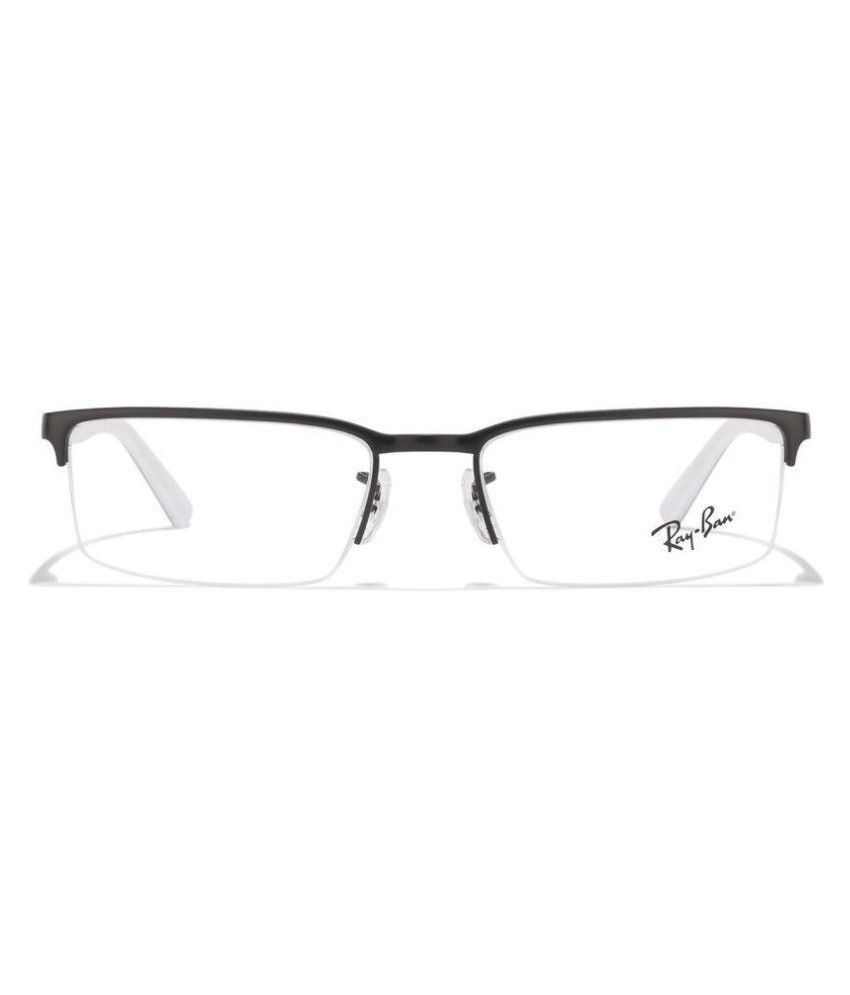 Ray-Ban Black Square Spectacle Frame RX-6271-2802-53 - Buy Ray-Ban ...