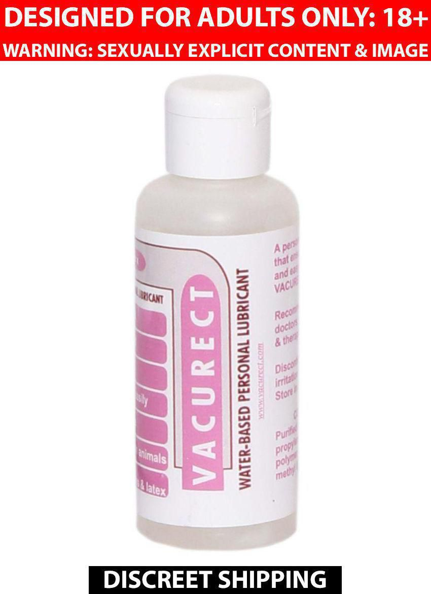 Vacurect Water Based Lubricant Strawberry 100ml Pack Of 1