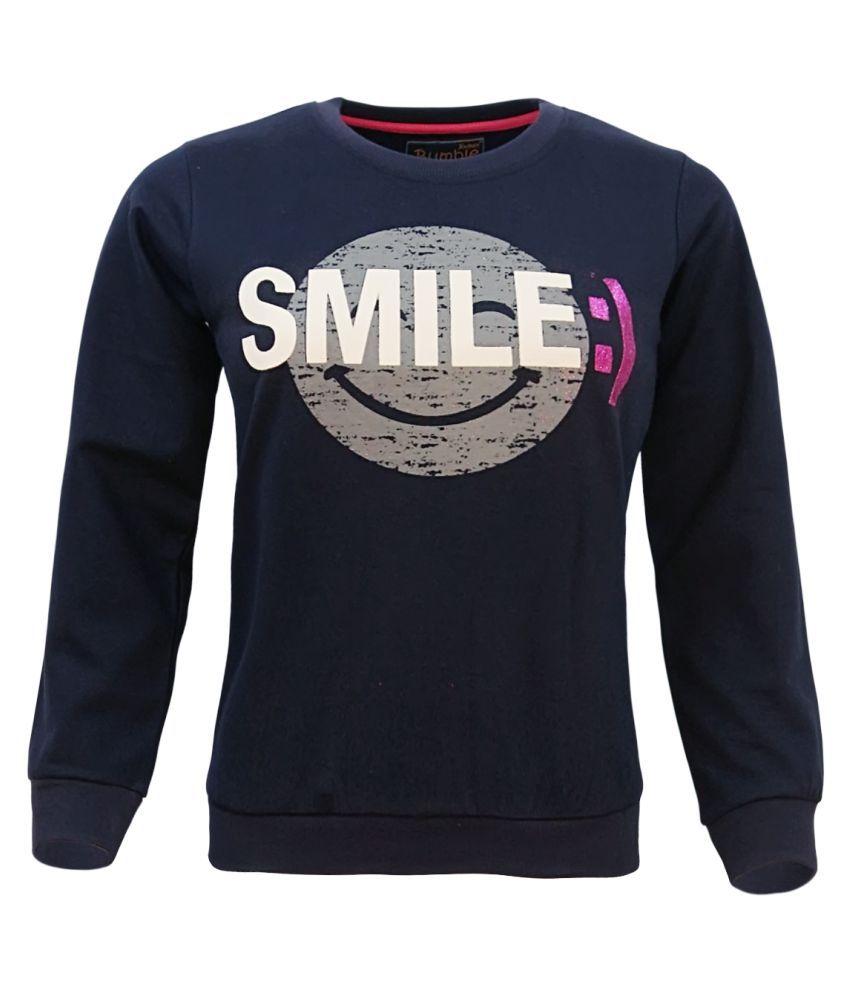 Kothari Navy Sweatshirts