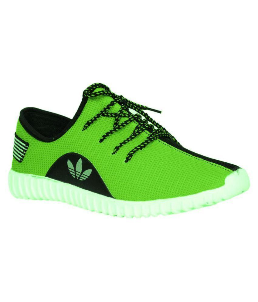 KDC Green Running Shoes