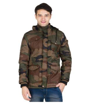 Burdy Multi Quilted & Bomber Jacket