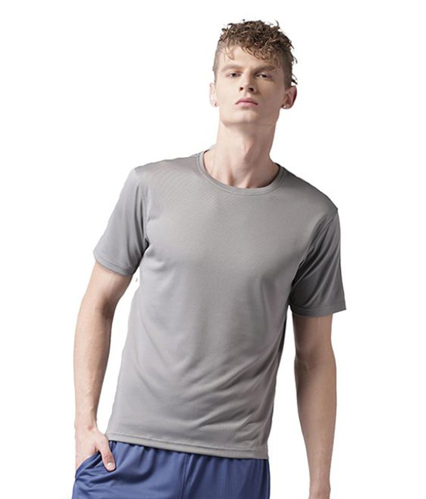 2Go Grey Polyester T Shirt