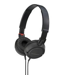 Head Nix For Sony MDR ZX100 Over Ear Wired Headphones With Mic Black