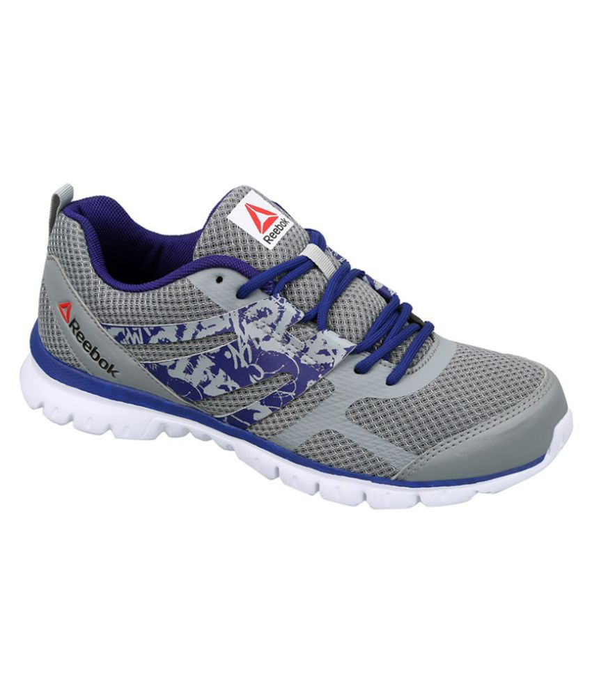 682d36f4cd2c Reebok SPEED XT Gray Running Shoes Price in India- Buy Reebok SPEED XT Gray  Running Shoes Online at Snapdeal