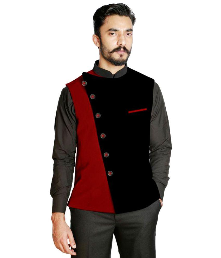 Fusion & Threads Multi Plain Formal Waistcoats