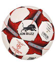 Lion Buzz Glider Cappuccino Multi-color Football Size- 5