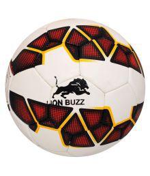 Lion Buzz White Football Size- 5