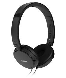 Philips Philips SHL5000 Black Mp3 Over Ear Wired Headphones Without Mic Black