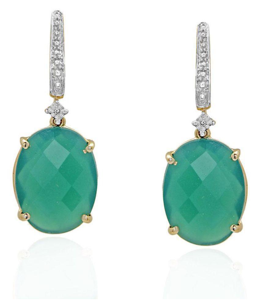 Maya Diamonds 95.5 Lumineux Diamond Drop Earrings