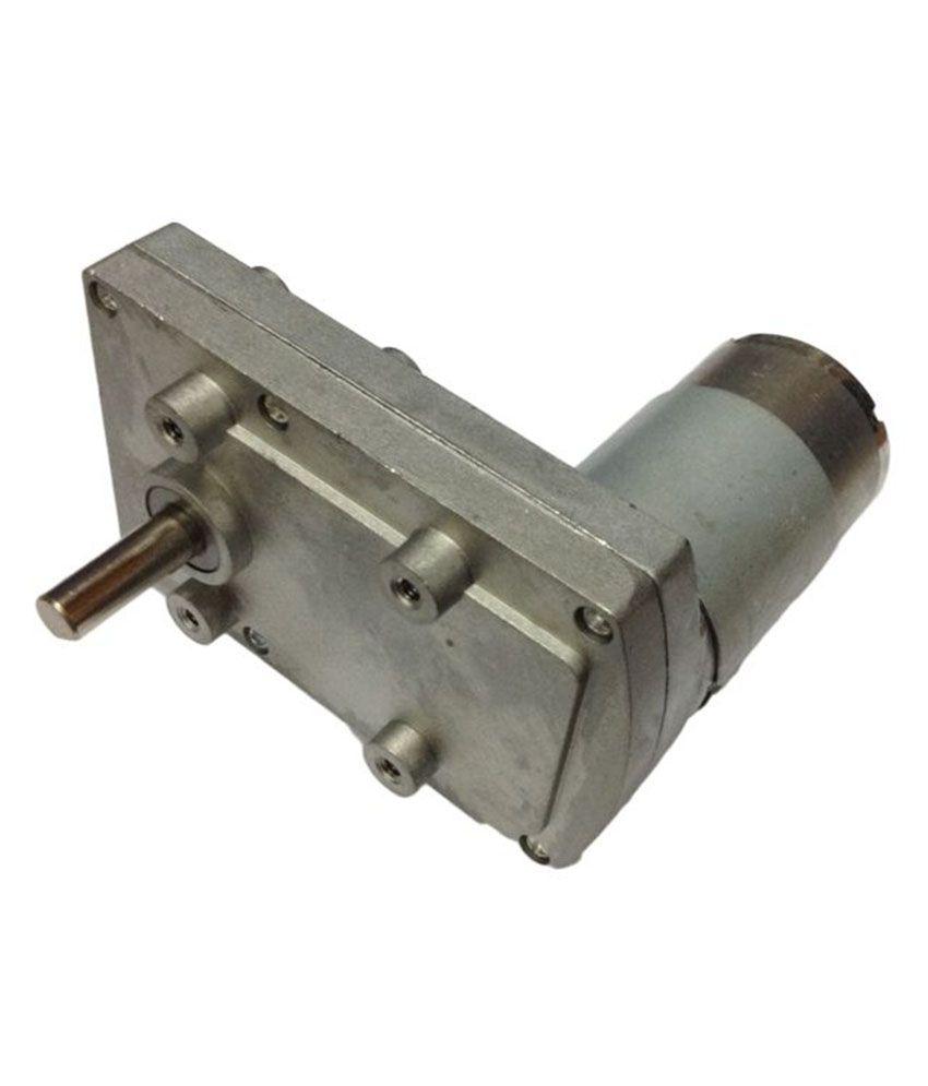 Robodo 12v DC Square Gear / Geared Motor 240 RPM - High Torque ...
