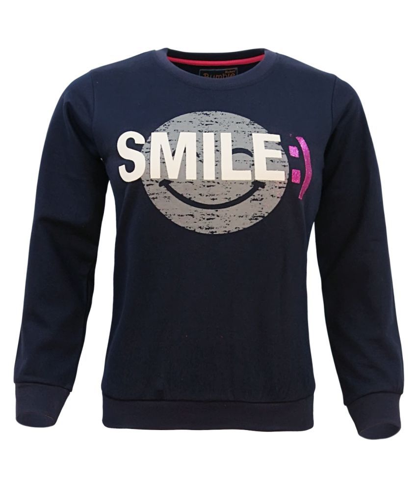 Kothari Navy Crew Neck Sweatshirt