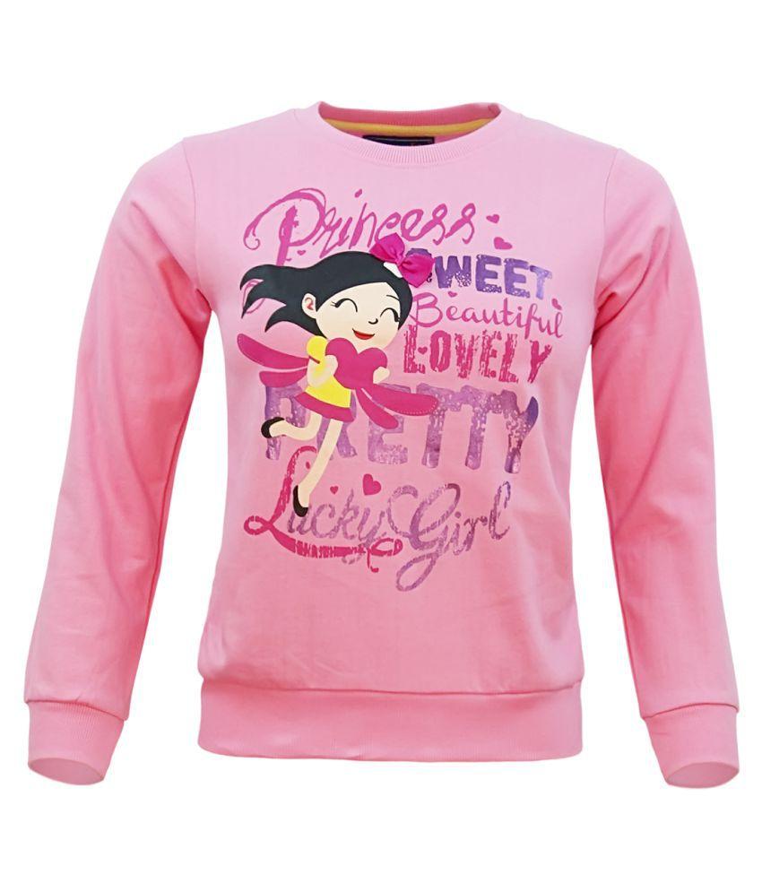 Kothari Pink Crew Neck Sweatshirt
