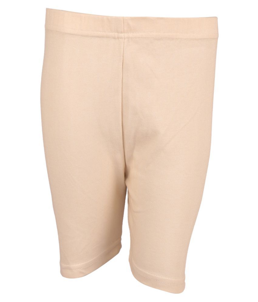 Gold Eagle Beige Cycling Short