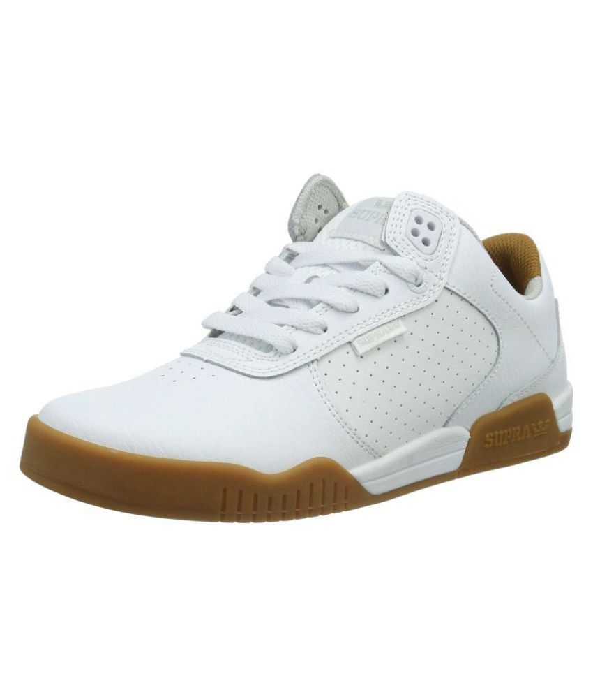 101b8d3d7e Supra Sneakers White Casual Shoes - Buy Supra Sneakers White Casual Shoes  Online at Best Prices in India on Snapdeal