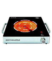 Smithcucina COOKA ELECTRIC COOKTOP STOVE SNGLE BURNER 2000 Watt Induction Cooktop