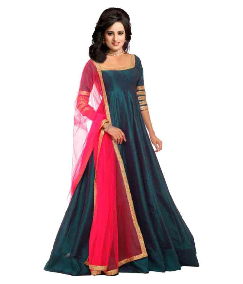 9854fea51a Greenvilla Designs Bangalore Silk Kurti With Churidar - Stitched Suit - Buy  Greenvilla Designs Bangalore Silk Kurti With Churidar - Stitched Suit  Online at ...