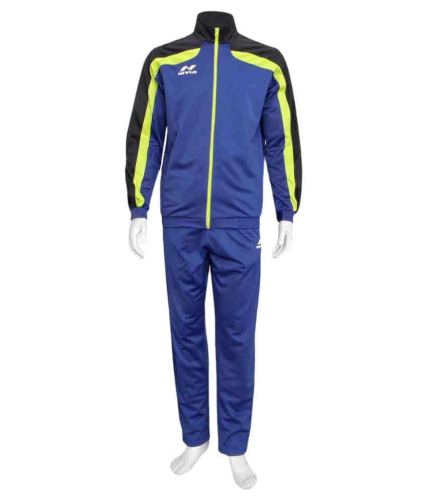 Nivia Navy Blue Track Suit Sp-03-2405xs02