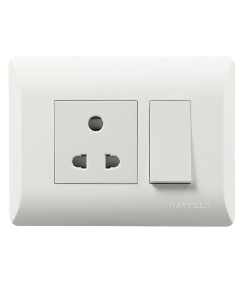 Buy Havells Modular Switches 1 Module Online At Low Price
