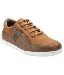 Juan David Sneakers Tan Casual Shoes