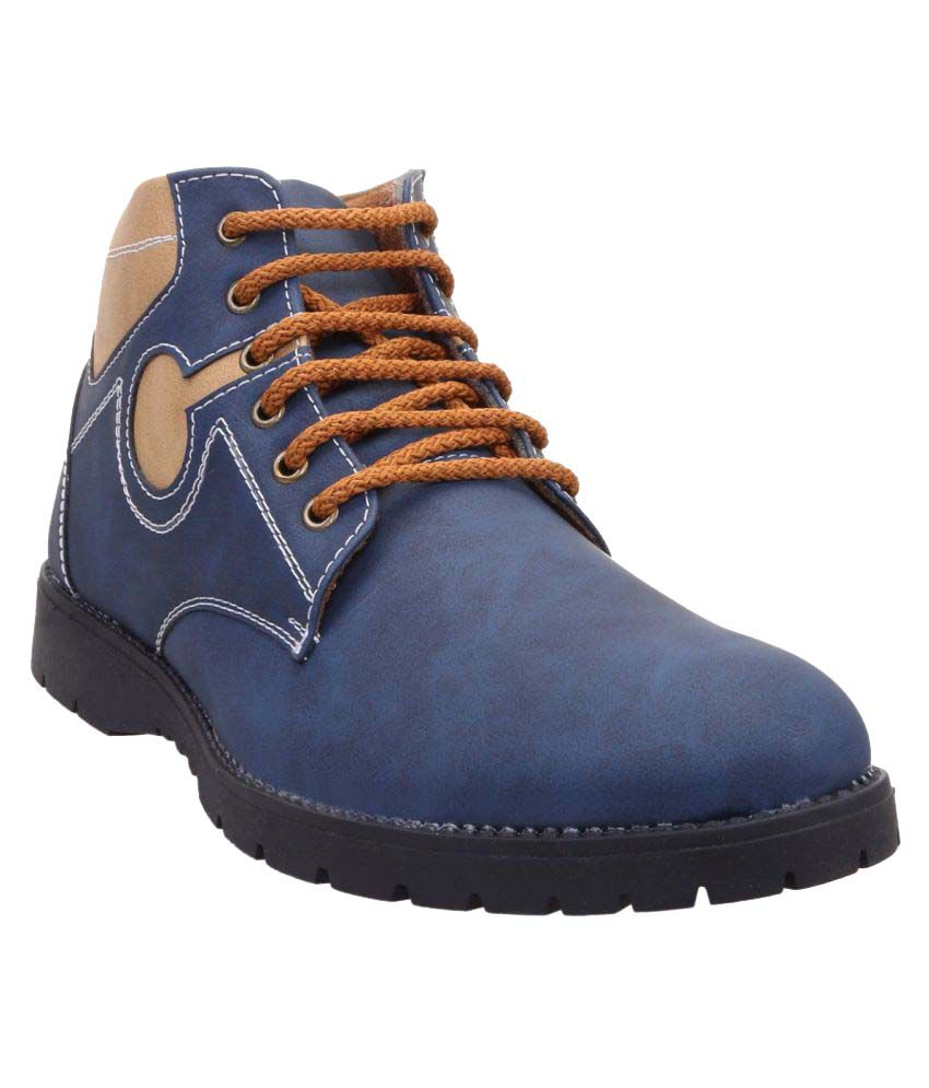 Zappy Blue Casual Boot