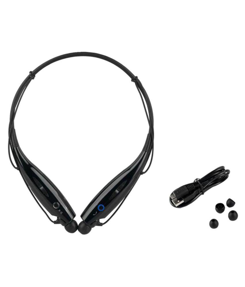 Akira F490 Wireless Bluetooth Headphone Black