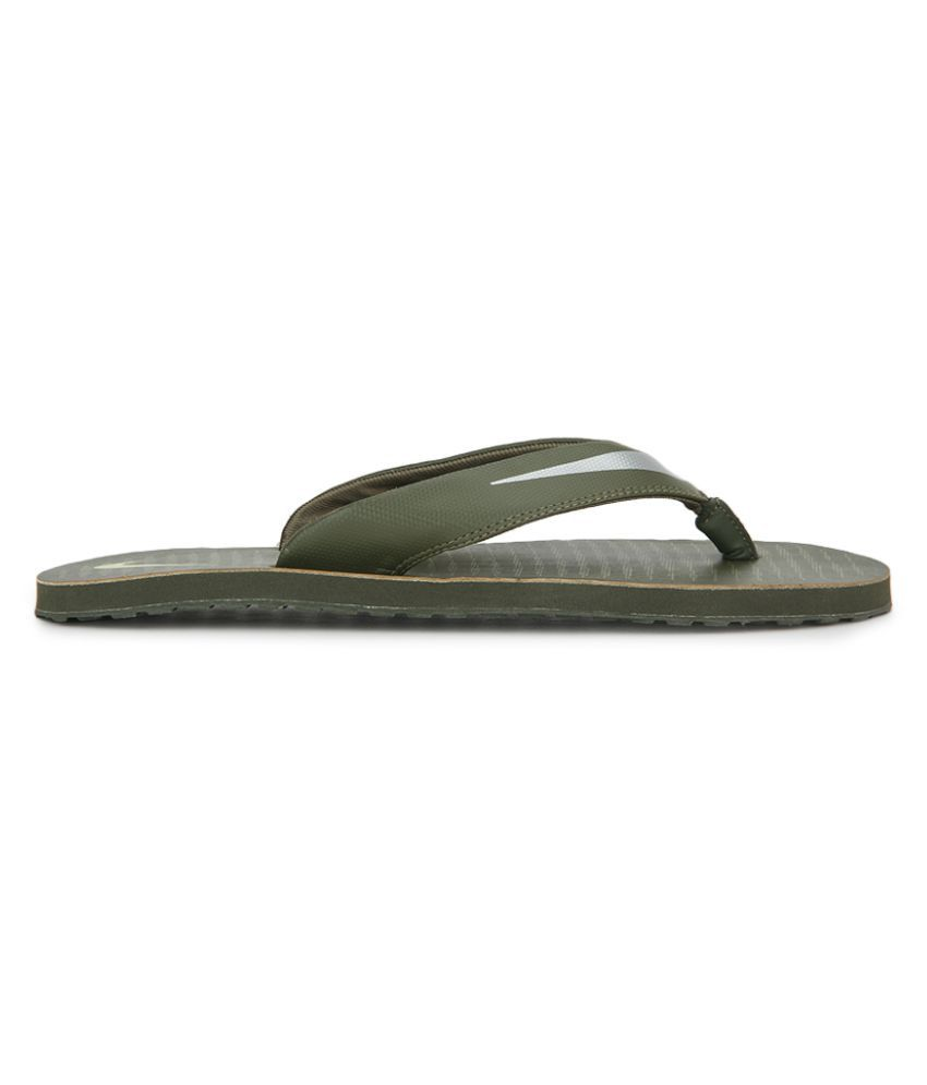 3dd3042888dd Nike CHROMA THONG 5 Green Thong Flip Flop Price in India- Buy Nike CHROMA  THONG 5 Green Thong Flip Flop Online at Snapdeal