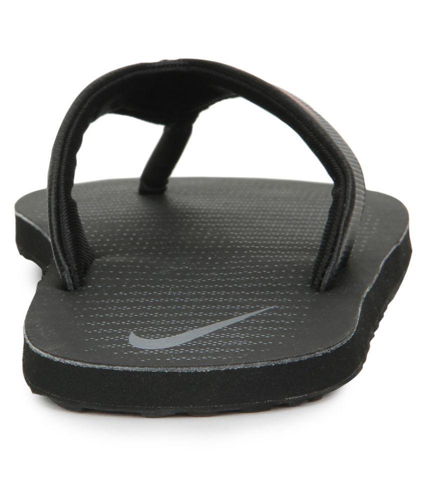 d8d31ca83 Nike Chroma Thong 5 Black Thong Flip Flop Price in India- Buy Nike ...
