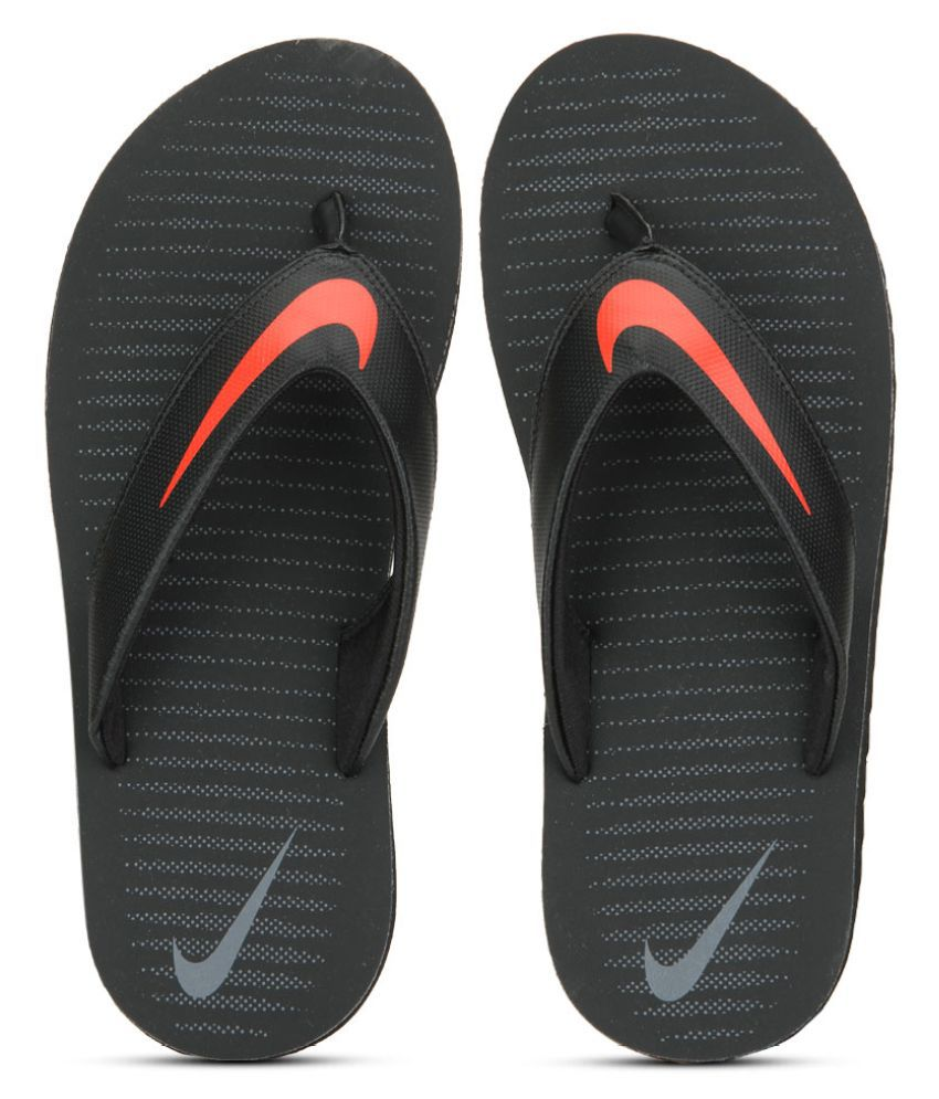 f48f0b36f8a0 Nike Chroma Thong 5 Black Thong Flip Flop Price in India- Buy Nike Chroma  Thong 5 Black Thong Flip Flop Online at Snapdeal