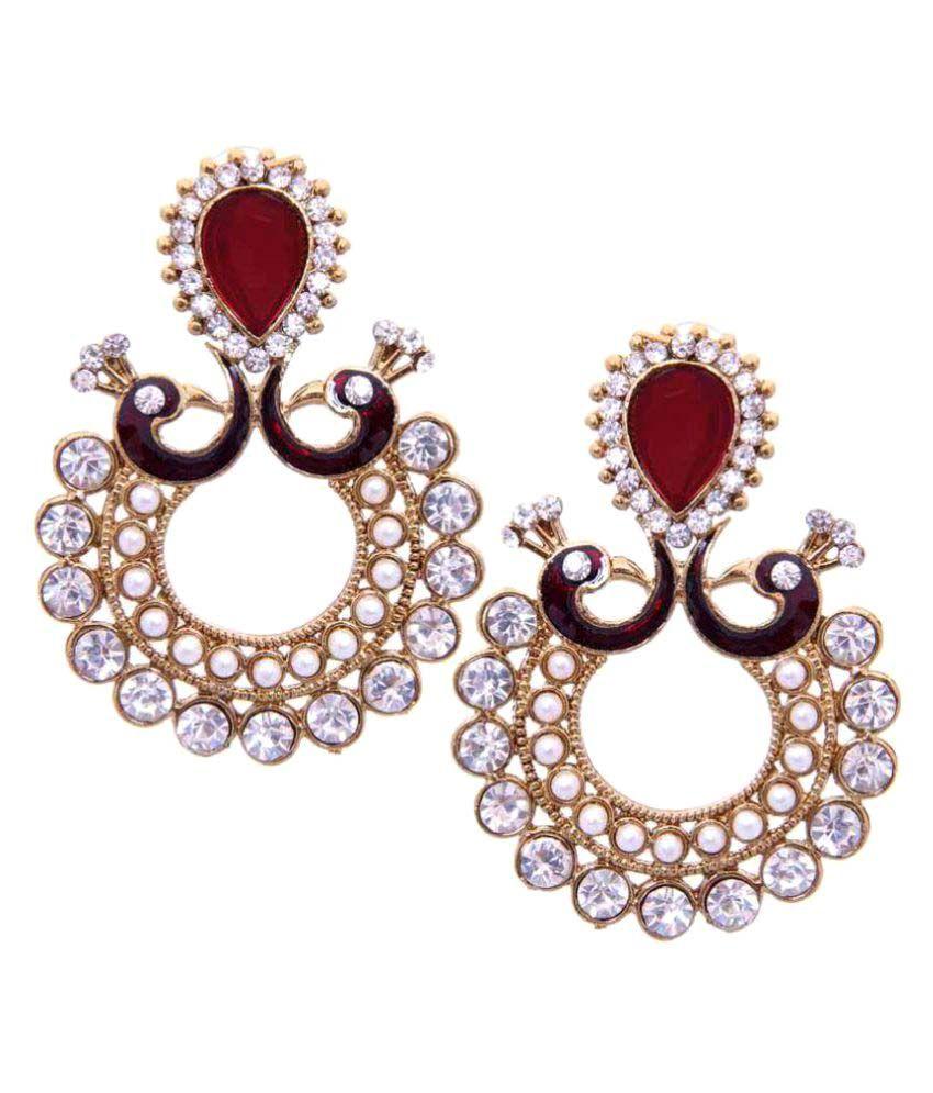 Styylo Fashion Exclusive Multicolor Earrings
