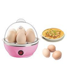 Electric 7 Piece Egg Boiler_Colour May vary as per stock availability