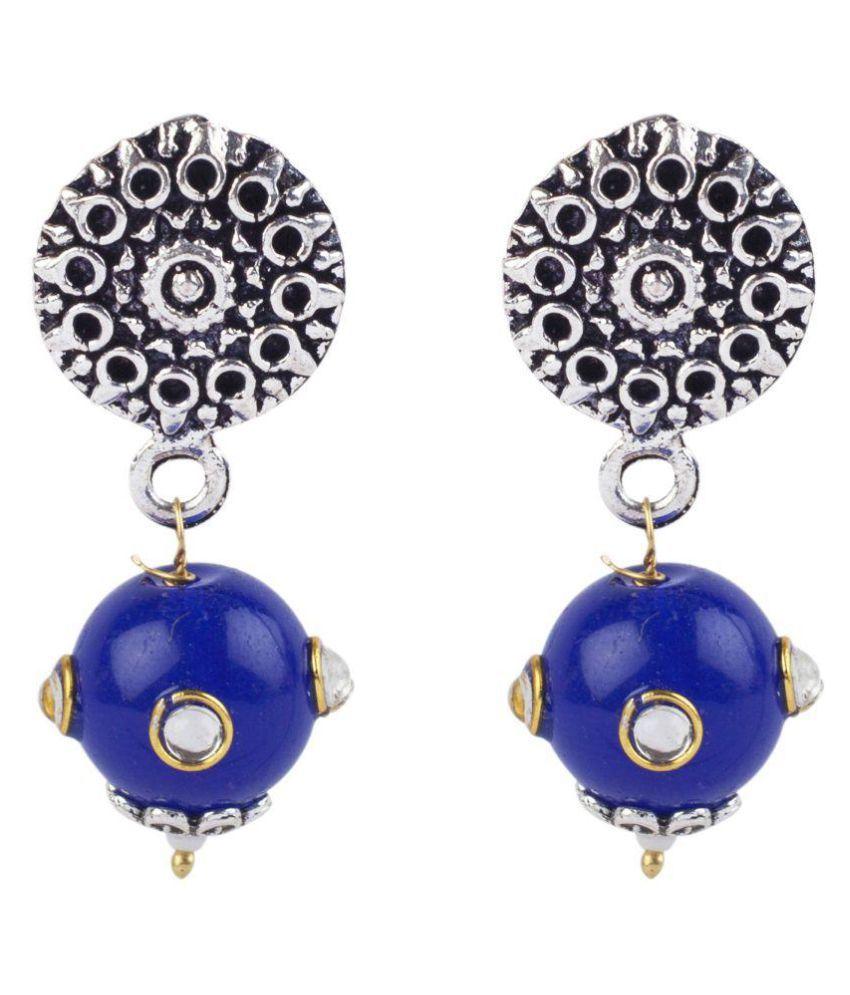 Makezak Multicolour Drop Earrings