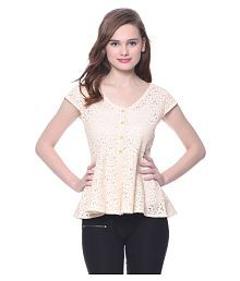 Uptownie Lite Lace Peplum Tops