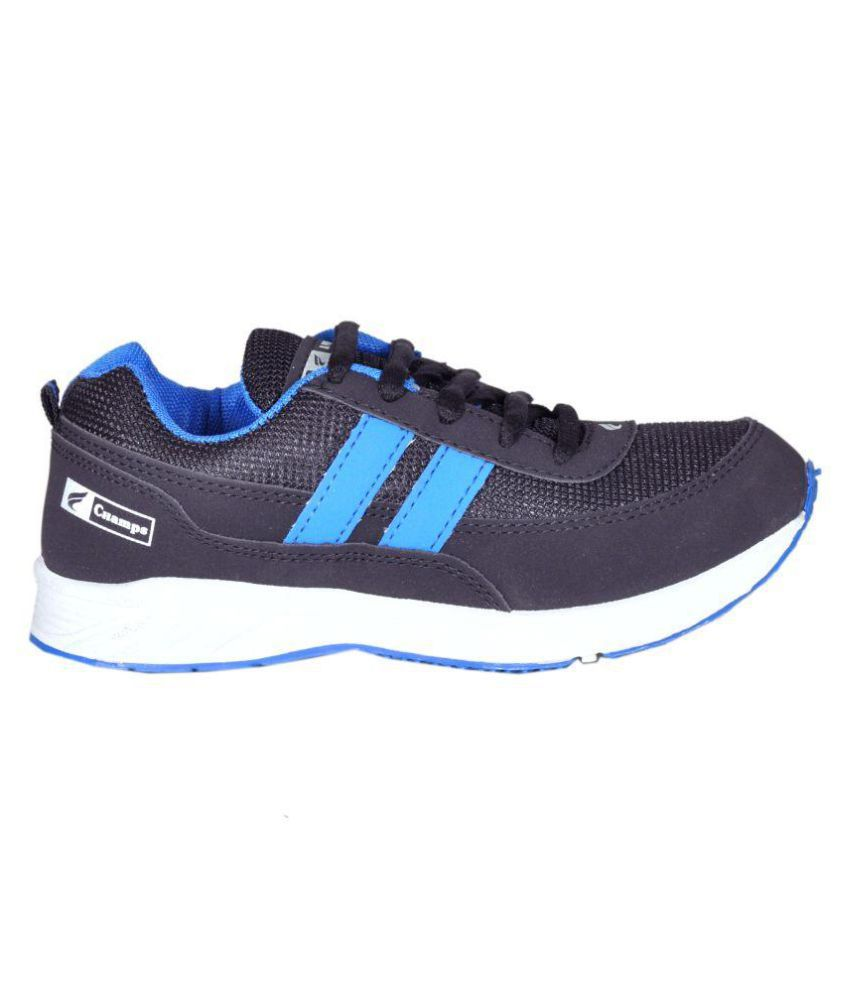 209d087dd Champs Black Running Sports Shoes Champs Black Running Sports Shoes ...