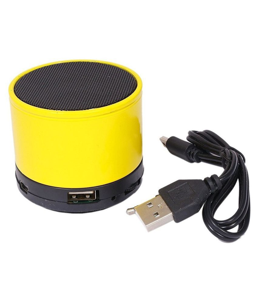 Akira Moto G 4G Bluetooth Speaker   Yellow available at SnapDeal for Rs.899