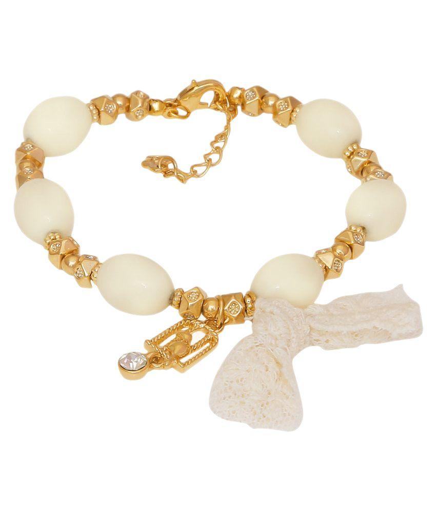 Dadu Diamonds Multicolour Alloy Bracelet