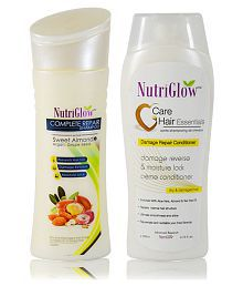 Nutriglow Hair Care Shampoo, Conditioner Bath Kit Pack of 2