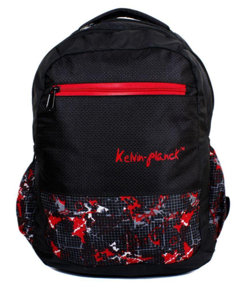 Kelvin Planck Black Laptop Bags