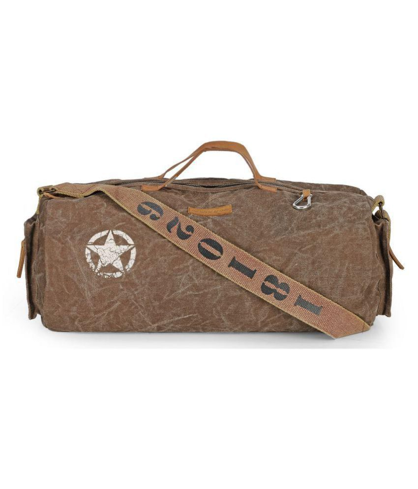 The House Of Tara Brown Large Canvas Gym Bag