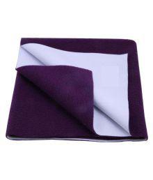 Bey Bee Purple Plastic With Foam Waterproof Sheet ( 50 Cm 70 Cm - 1 Pcs )