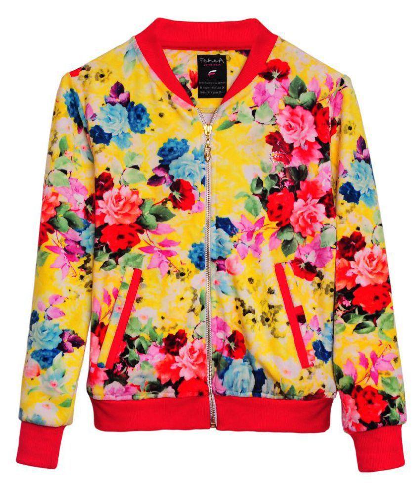 Femea Multicolour Fleece Sweatshirt
