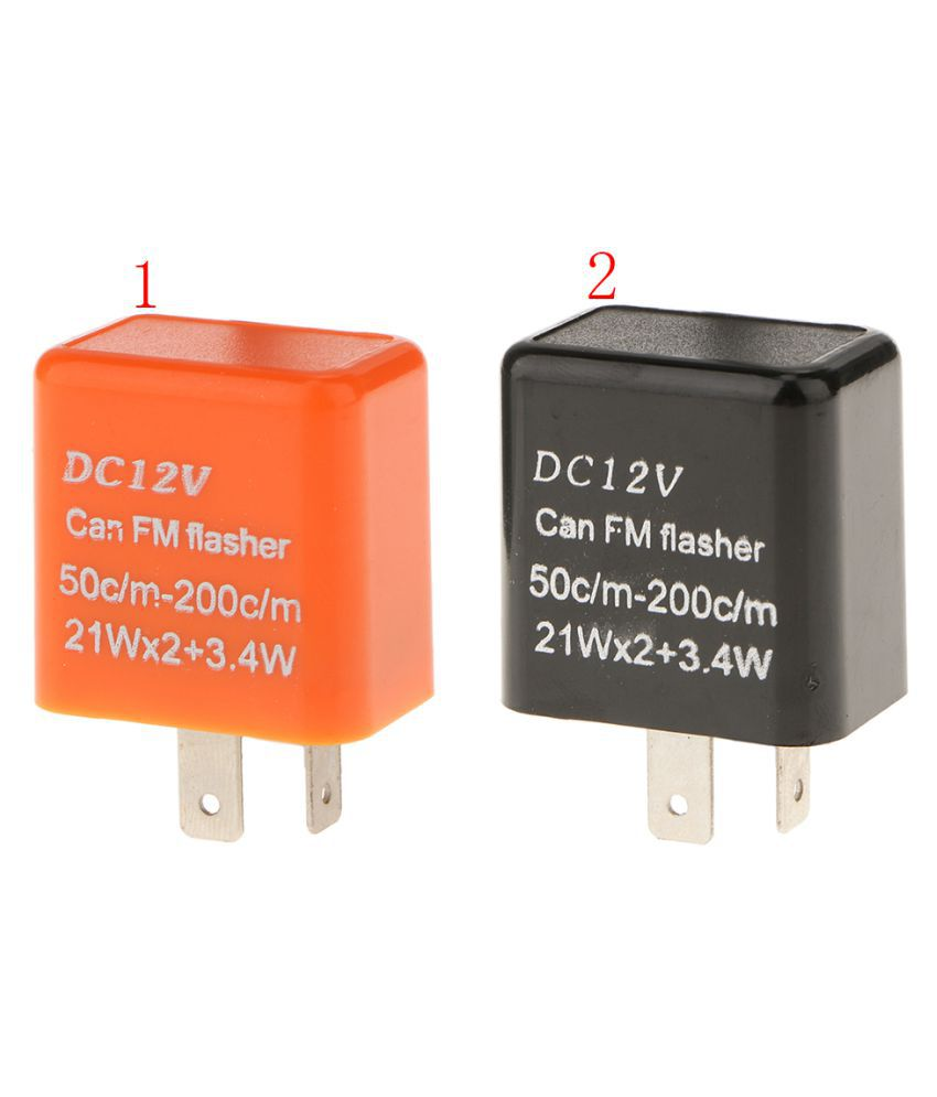 Lamps For Flasher Electronic Led Signal Fix 2pin Turn Magideal Relay PukZwTOXi