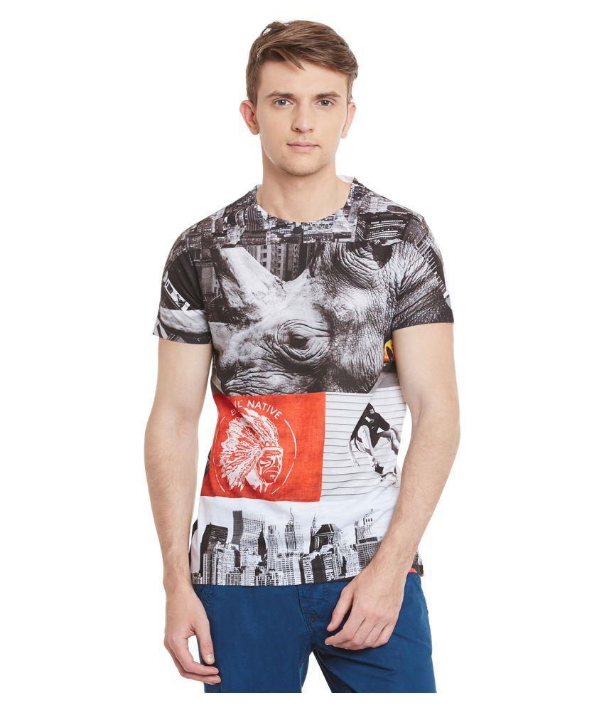 Wear Your Mind Multi Round T-Shirt