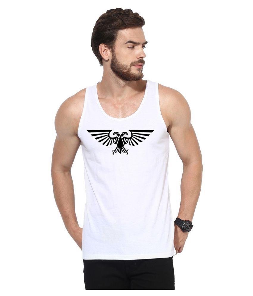 Atheno White Round T-Shirt