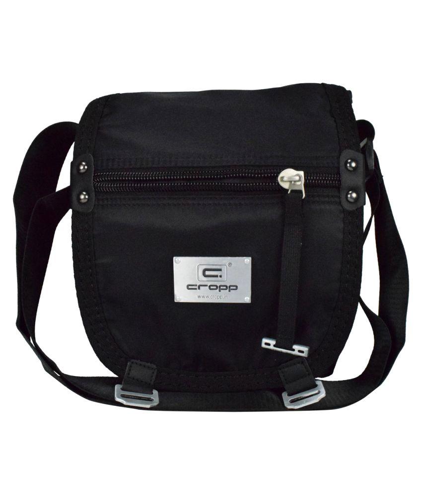 Cropp Black Nylon Sling Bag