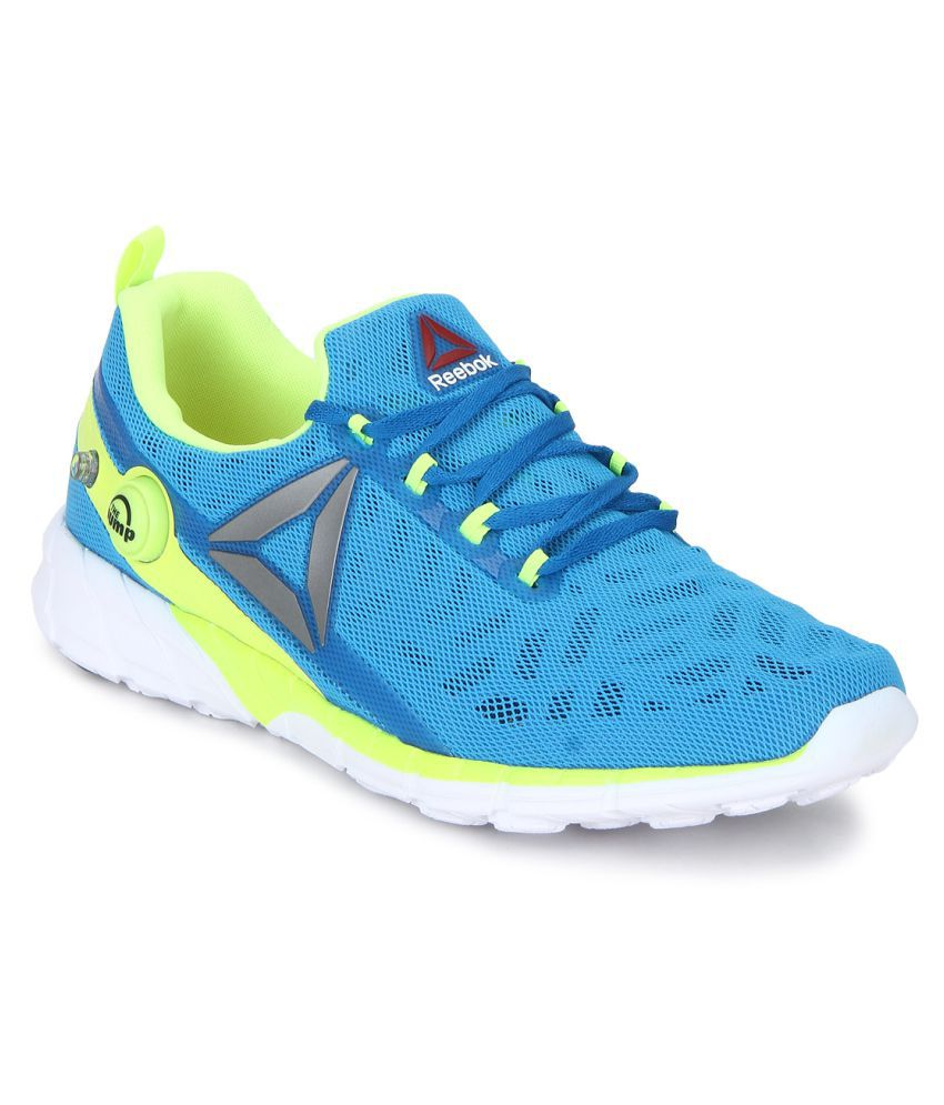 Reebok Zpump Fusion 2.5 Blue Running Shoes ...