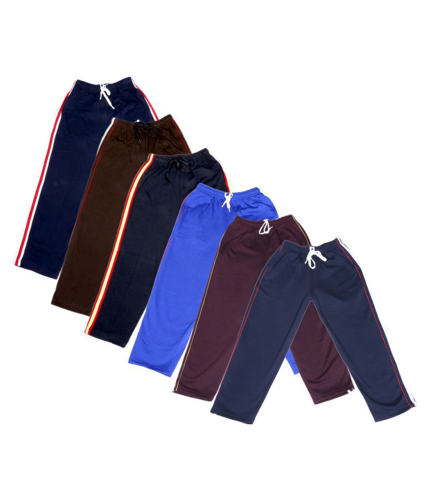 IndiWeaves Girls Premium 3 Cotton and 3 Warm Wollen Lower(Pack of 6)